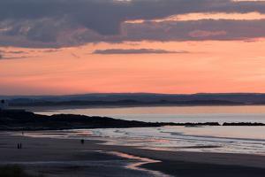 Sunset, Bamburgh, Northumberland, England, United Kingdom, Europe by Martin Pittaway
