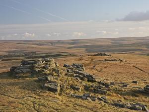 Tor, Dartmoor, Devon, England, United Kingdom, Europe by Martin Pittaway