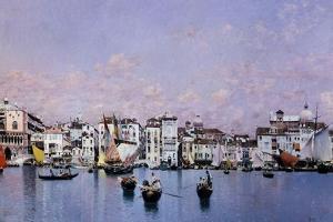 La Riva Degli Schiavoni En Venecia, 1873 by Martin Rico y Ortega