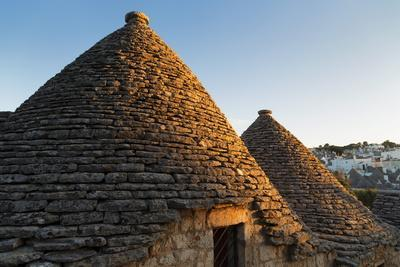 Roof of Traditional Trullos (Trulli) in Alberobello