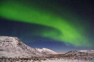 Northern Lights near Tromso, Troms, Norway by Martin Ruegner