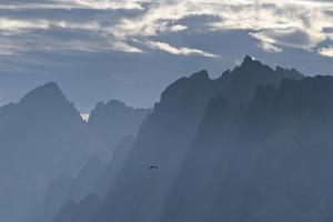 View from Pordoi Pass, Dolomites, South Tyrol, Trentino-Alto Adige, Italy by Martin Ruegner