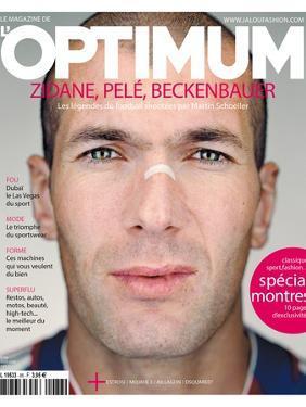 L'Optimum, June 2006 - Zinédine Zidane by Martin Schoeller