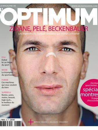 L'Optimum, June 2006 - Zinédine Zidane by Martin Schoeller
