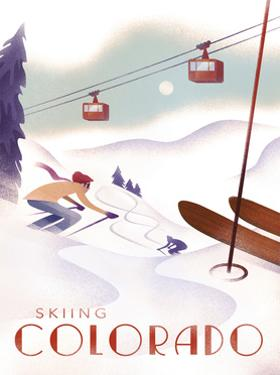 Colorado Skiing by Martin Wickstrom
