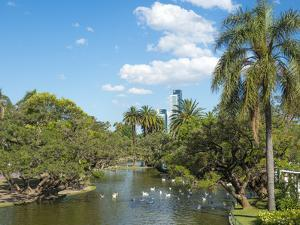 Bosques de Palermo park. Buenos Aires, capital of Argentina. by Martin Zwick