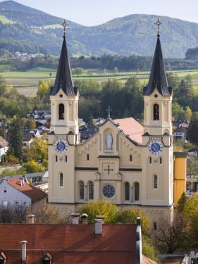 Church Pfarrkirche, Chiesa Di Santa Maria Assunta in Bruneck, Brunico by Martin Zwick