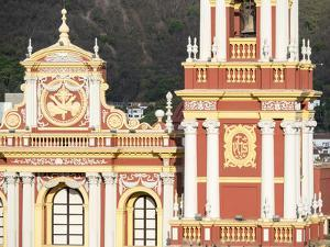 Church San Francisco. Town of Salta, located in the foothills of the Andes. Argentina by Martin Zwick