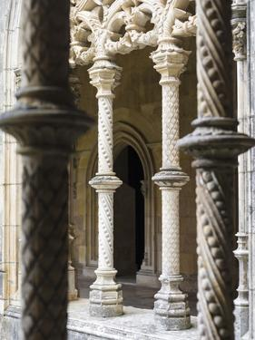Claustro Real, the royal cloister. Monastery of Batalha, Mosteiro de Santa Maria da Vitoria by Martin Zwick