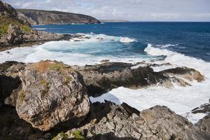 Cliff Line, Cape Du Couedic, Flinders Chase National Park, Kangaroo Island, Australia by Martin Zwick