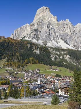 Corvara in Gader Valley, Alto Adige. Mount Sassongher in the Background by Martin Zwick