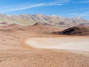 Desierto del Diablo. The Argentinian Altiplano along Routa 27 between Pocitos and Tolar Grande by Martin Zwick