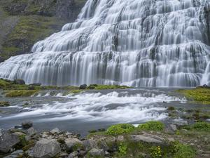 Dynjandi waterfall, an icon of the Westfjords in northwest Iceland. by Martin Zwick