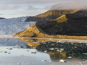 Eqip Glacier in Greenland, Danish Territory. by Martin Zwick
