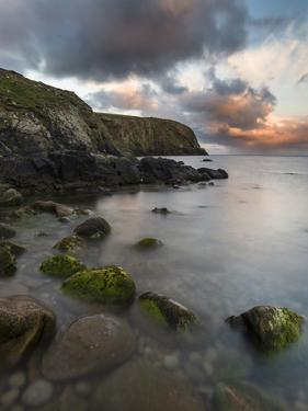 Fair Isle. in the Far North of Scotland. the Coast Near Finni Quoy. Scotland, Shetland Islands by Martin Zwick
