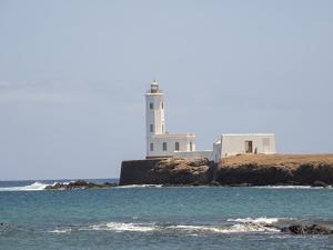 Farol de D. Maria Pia. The capital Praia on Santiago Island by Martin Zwick