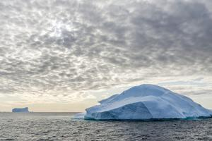 Iceberg in Disko Bay (Qeqertarsuup Tunua) near Ilulissat. Greenland by Martin Zwick