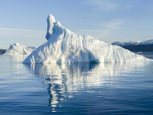 Icebergs in the Uummannaq fjord system, northwest Greenland, Denmark by Martin Zwick