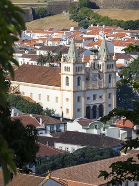 Igreja do Santissimo Salvador da Se. Capital Angra do Heroismo historic center . by Martin Zwick