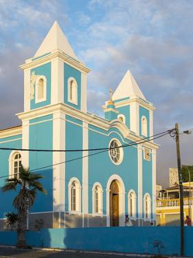 Igreja Nossa Senhora da Conceicao. Sao Filipe, the capital of the island. Fogo Island by Martin Zwick
