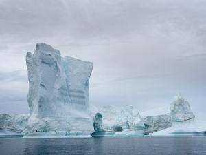 Ilulissat Icefjord at Disko Bay, Greenland, Danish Territory. by Martin Zwick
