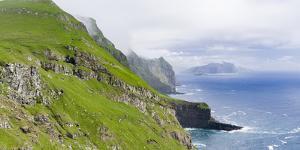 Island Mykines, Faroe Islands. Denmark by Martin Zwick