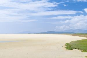Isle of Harris, Tidal Flats at Scarista Beach at Low Tide. Scotland by Martin Zwick