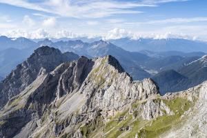 Karwendel Mountains. Karwendel Ridge. Austria/Germany by Martin Zwick