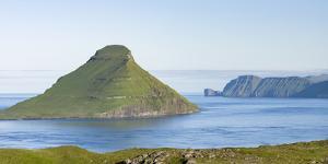 Koltur island at sunrise. Denmark, Faroe Islands by Martin Zwick