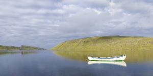 Lake Sorvagsvatn, Leitisvatn. Island Vagar, Faroe Islands, Denmark by Martin Zwick