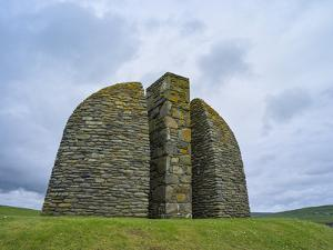 Land Raiders Monument Near Coll and Gress, Isle of Lewis, Scotland by Martin Zwick