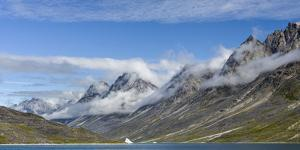 Landscape in the Uunartoq Fjord. Southern Greenland, Denmark by Martin Zwick