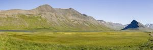 Landscape near Onundarfjordur. The Westfjords (Vestfirdir) in Iceland. by Martin Zwick