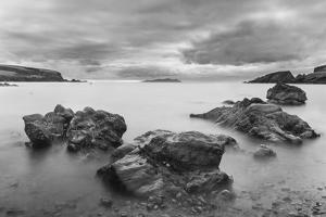 Landscape on West Shetland. Shetland, Northern Isles, Scotland. by Martin Zwick