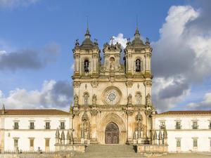 Monastery of Alcobaca, Mosteiro de Santa Maria de Alcobaca, UNESCO World Heritage Site. Portugal by Martin Zwick
