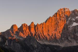 Mount Civetta is one of the icons of the Dolomites, Italy by Martin Zwick