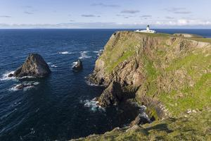 North Lighthouse. Fair Isle, Scotland, Shetland Islands by Martin Zwick