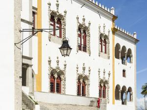 Palacio Nacional de Sintra, near Lisbon, part of UNESCO. Portugal by Martin Zwick