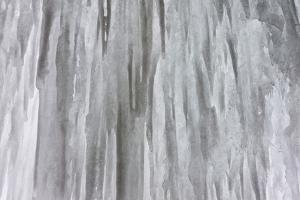Partnachklamm near Garmisch-Partenkirchen in Bavaria, Germany during winter. Frozen waterfall by Martin Zwick