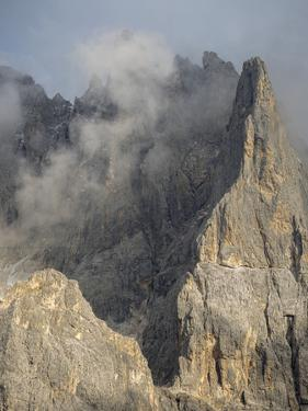 Peaks towering over Val Venegia seen from Passo Costazza. by Martin Zwick