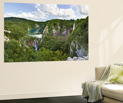 Plitvice Lakes in the National Park Plitvicka Jezera, Croatia