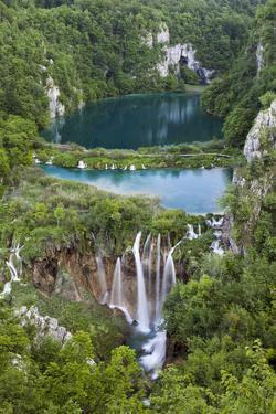 Plitvice Lakes in the National Park Plitvicka Jezera, Croatia by Martin Zwick