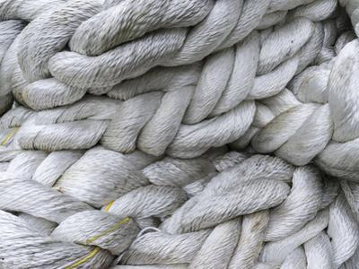 Ropes and lines for trawlers. Fuglafjordur, Denmark by Martin Zwick