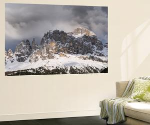 Rosengarten or Catinaccio Mountains, Schlern-Rosengarten, Dolomites, Italy by Martin Zwick