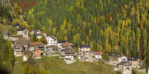 San Tomaso Agordino in the Dolomites of the Veneto, Italy by Martin Zwick