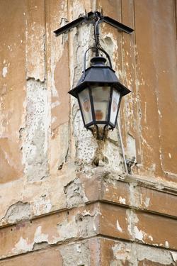 Sighisoara (Schaessburg), Transylvania, Old Building Lantern, Romania by Martin Zwick