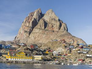 Small town of Uummannaq in northwest Greenland, Denmark by Martin Zwick