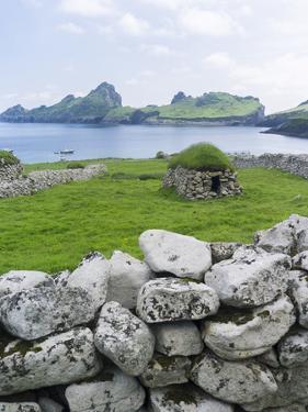 St Kilda Islands, Scotland. Island of Hirta, Traditional Cleit by Martin Zwick