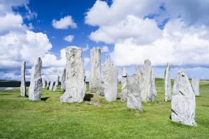 Standing Stones of Callanish, Isle of Lewis, Western Isles, Scotland by Martin Zwick