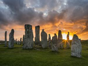 Standing Stones of Callanish, Isle of Lewis, Western Isles, Scotland by Martin Zwick